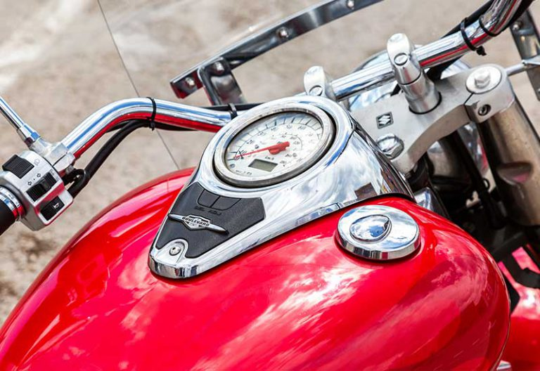 Remove A Dent From A Motorcycle Tank