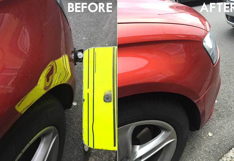 Benefits of Mobile Dent Repair and PDR process
